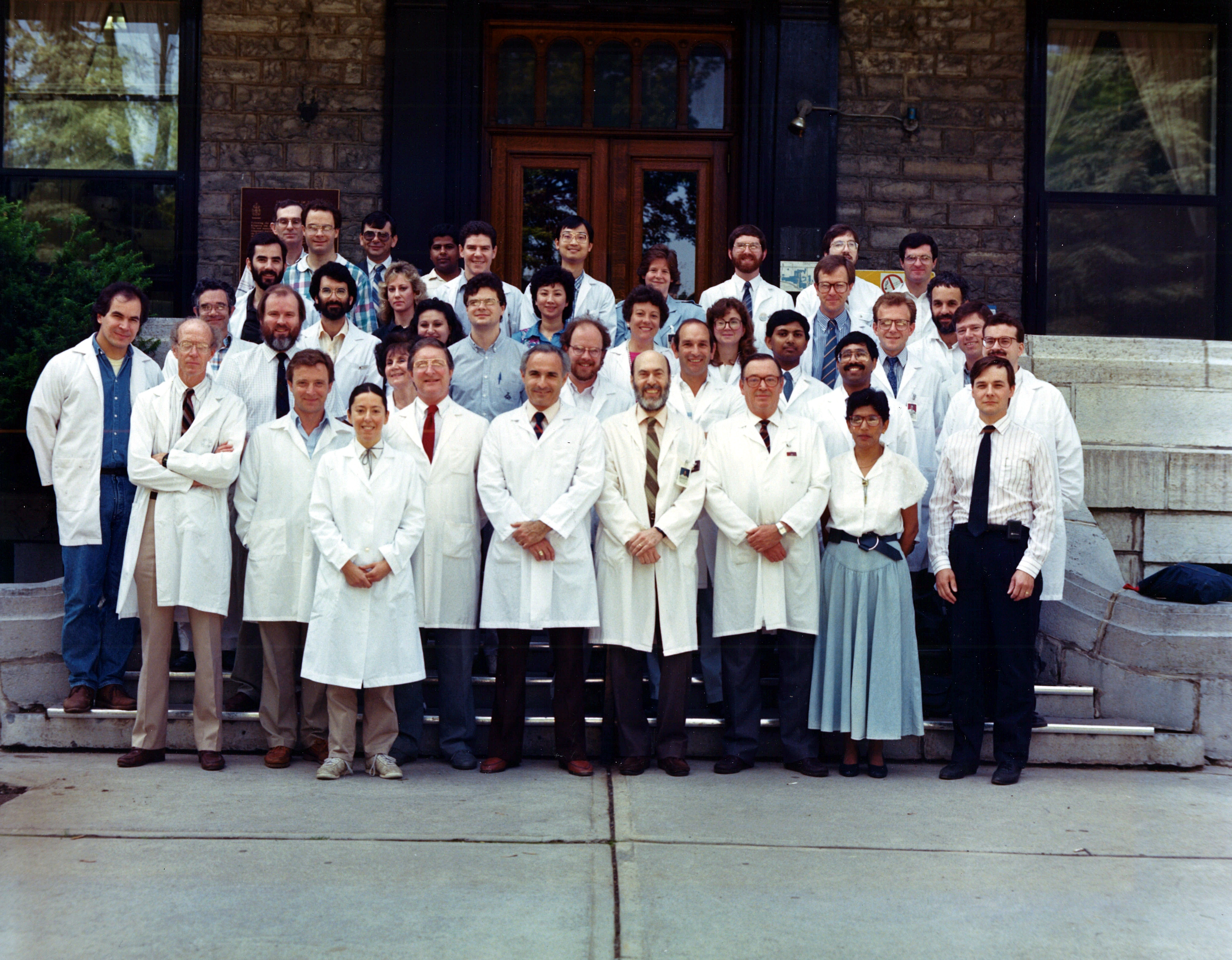 1990 Faculty Group Photo