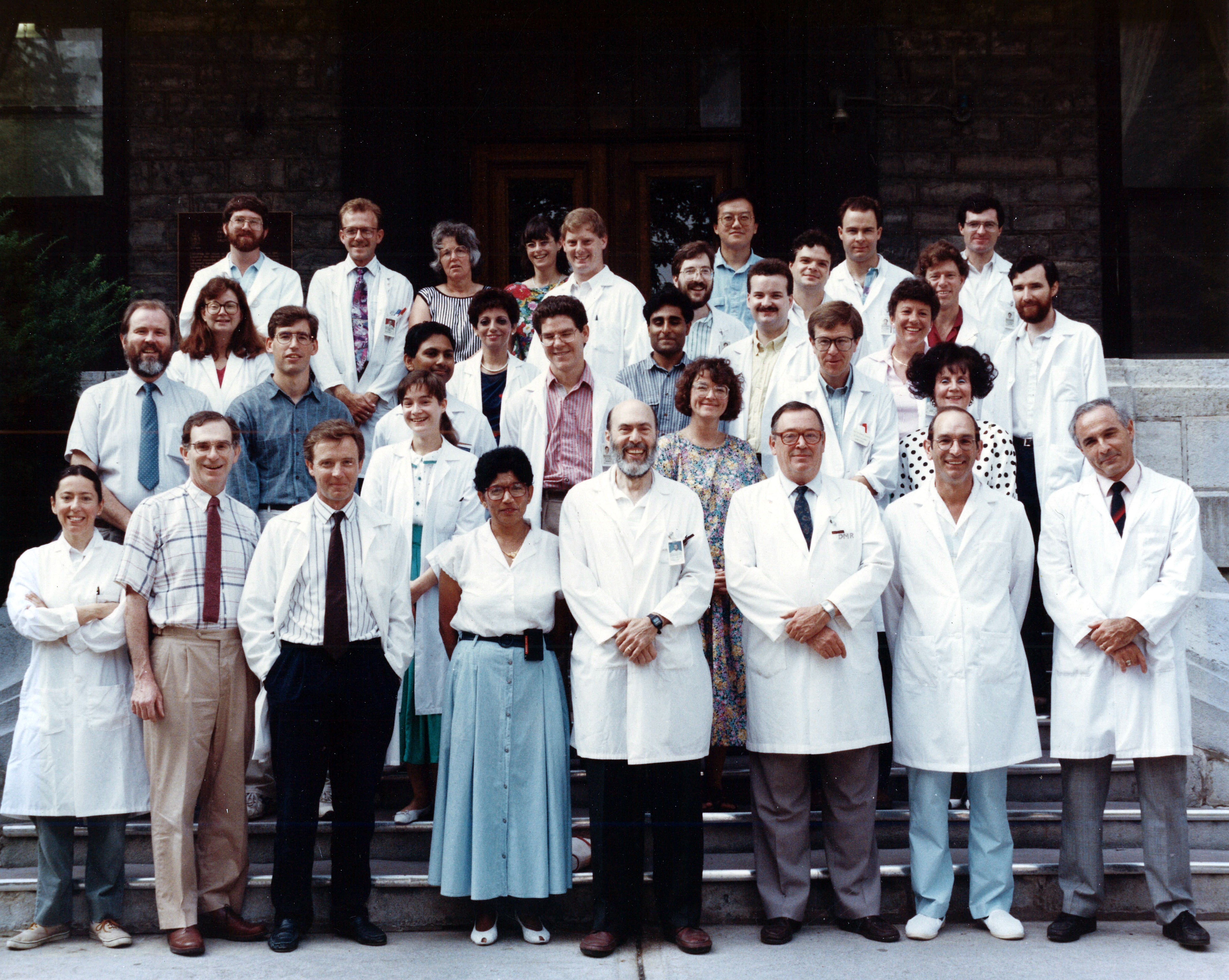 1991 Faculty Group Photo