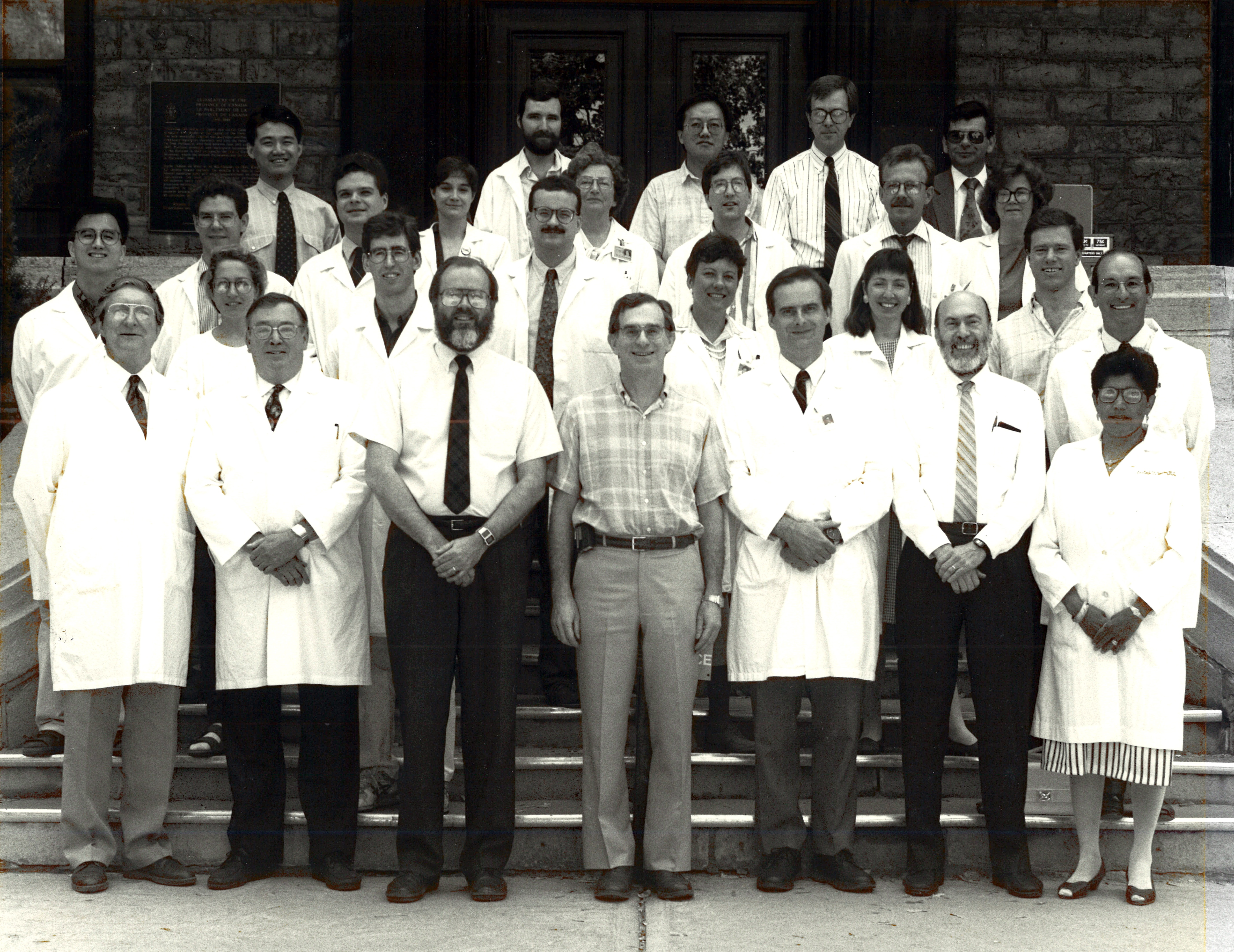 1992 Faculty Group Photo