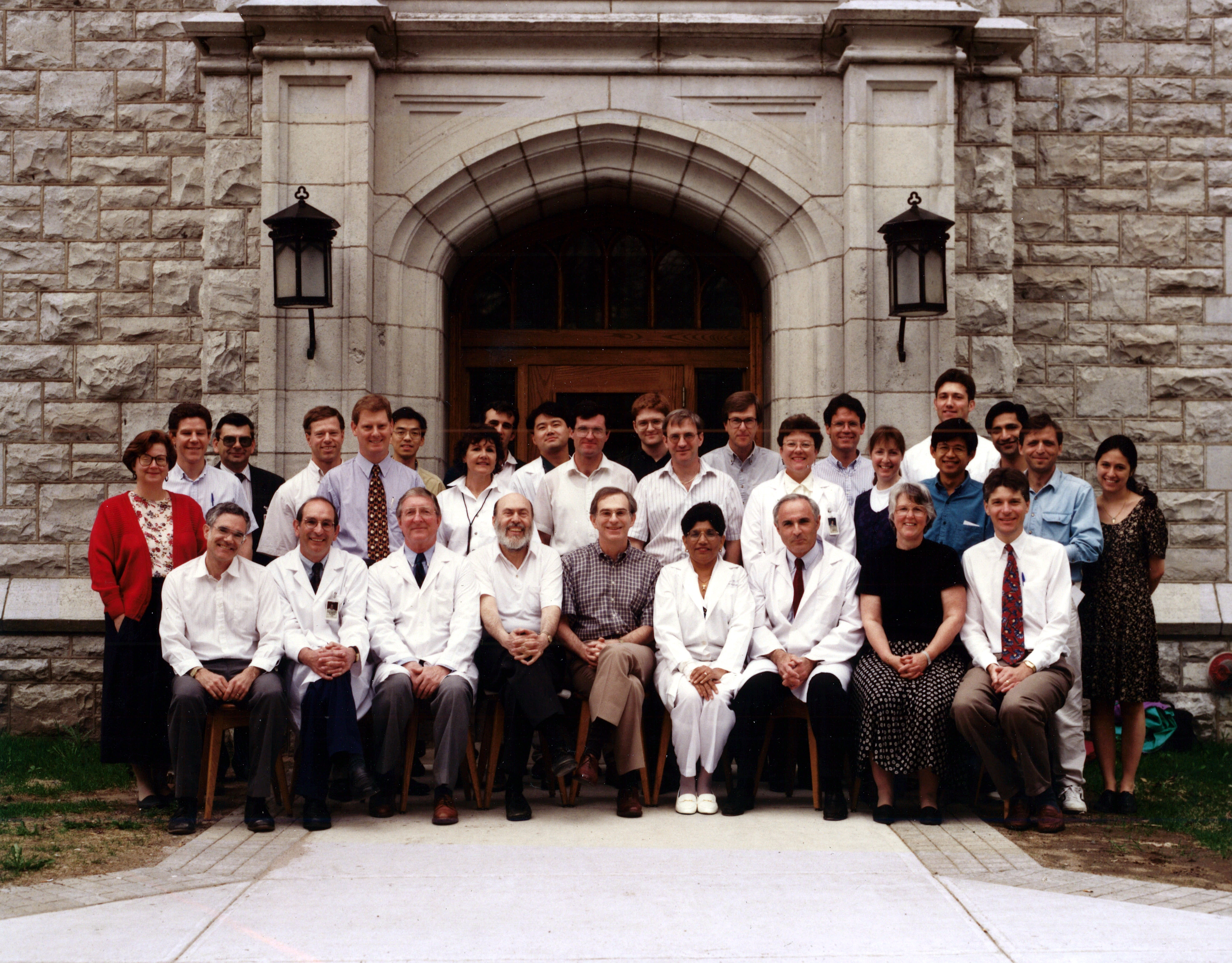 1996 Faculty Group Photo
