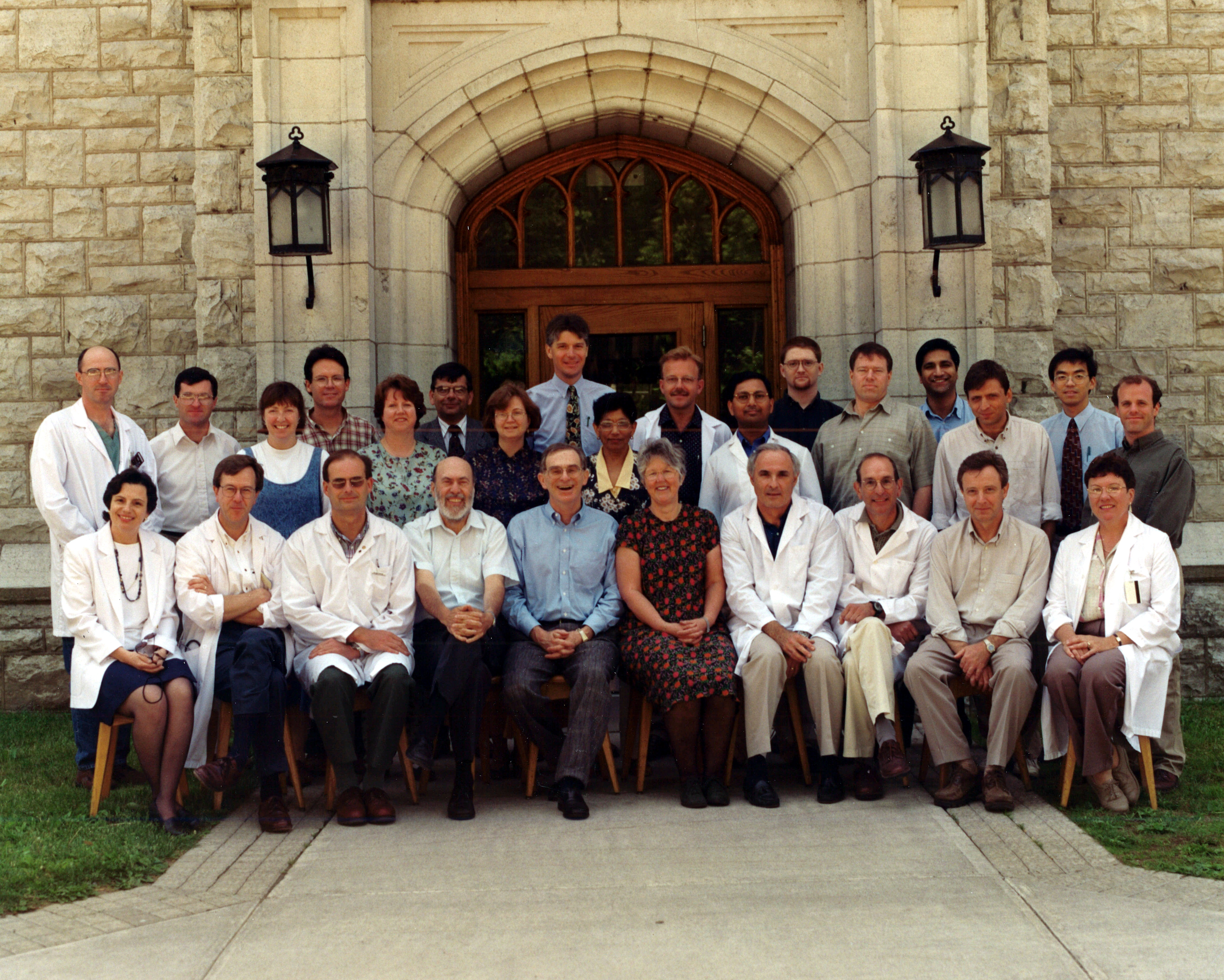 1998 Faculty Group Photo
