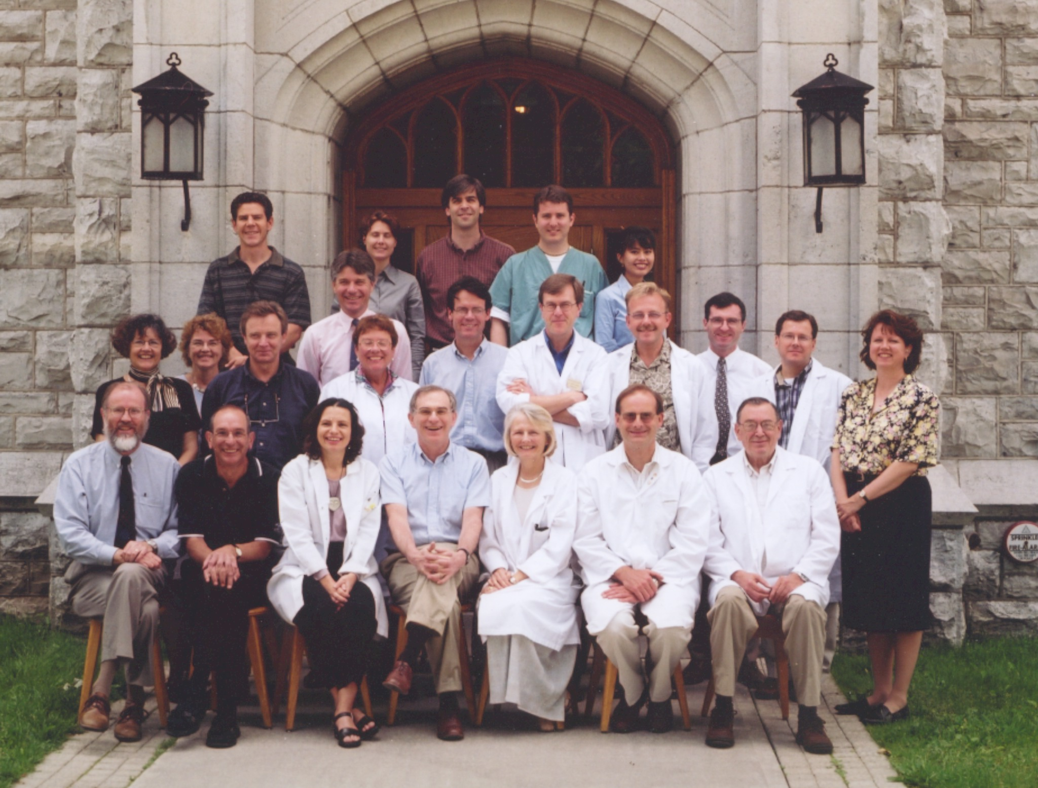 2000 Faculty Group Photo