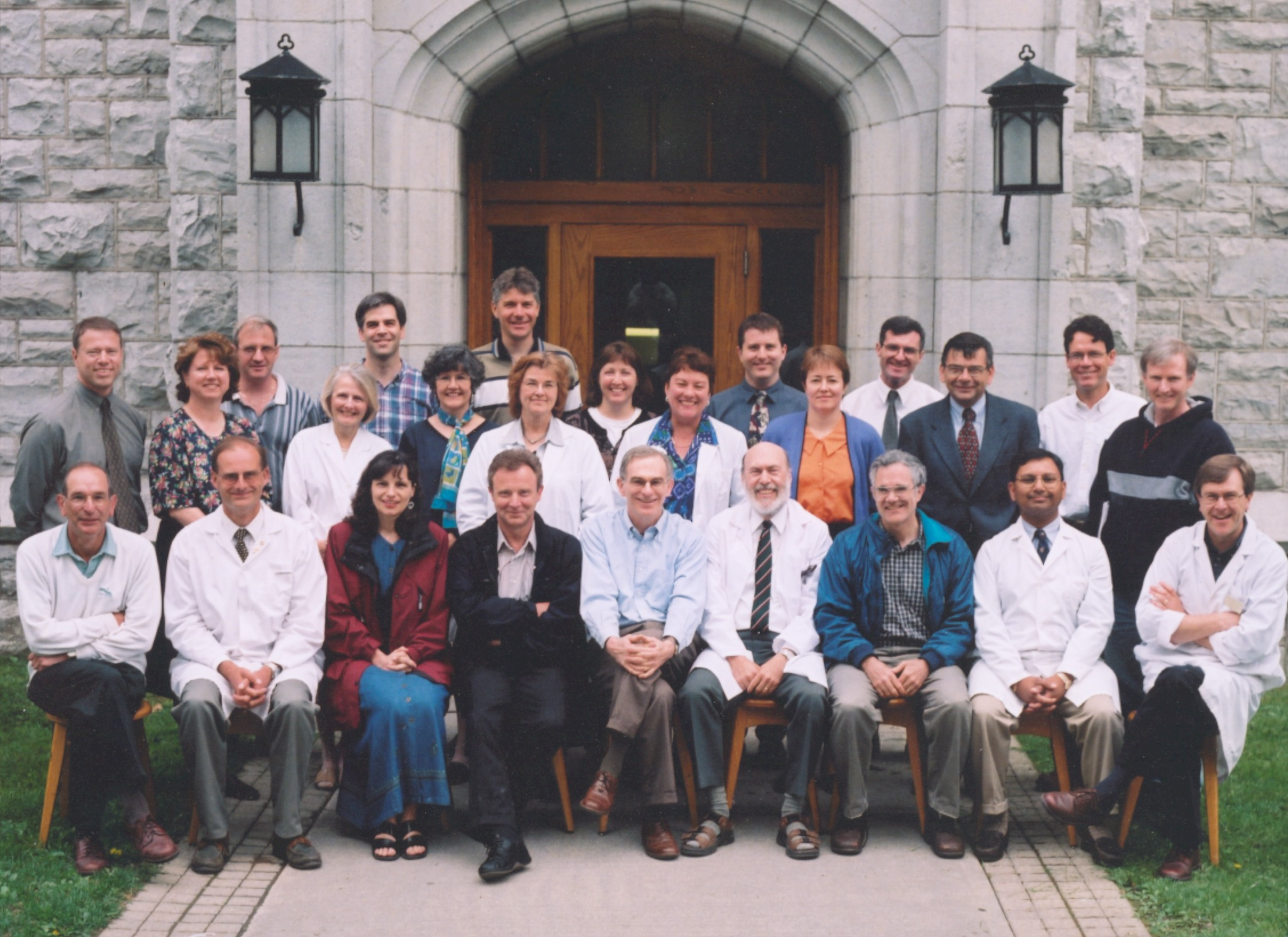 2001 Faculty Group Photo