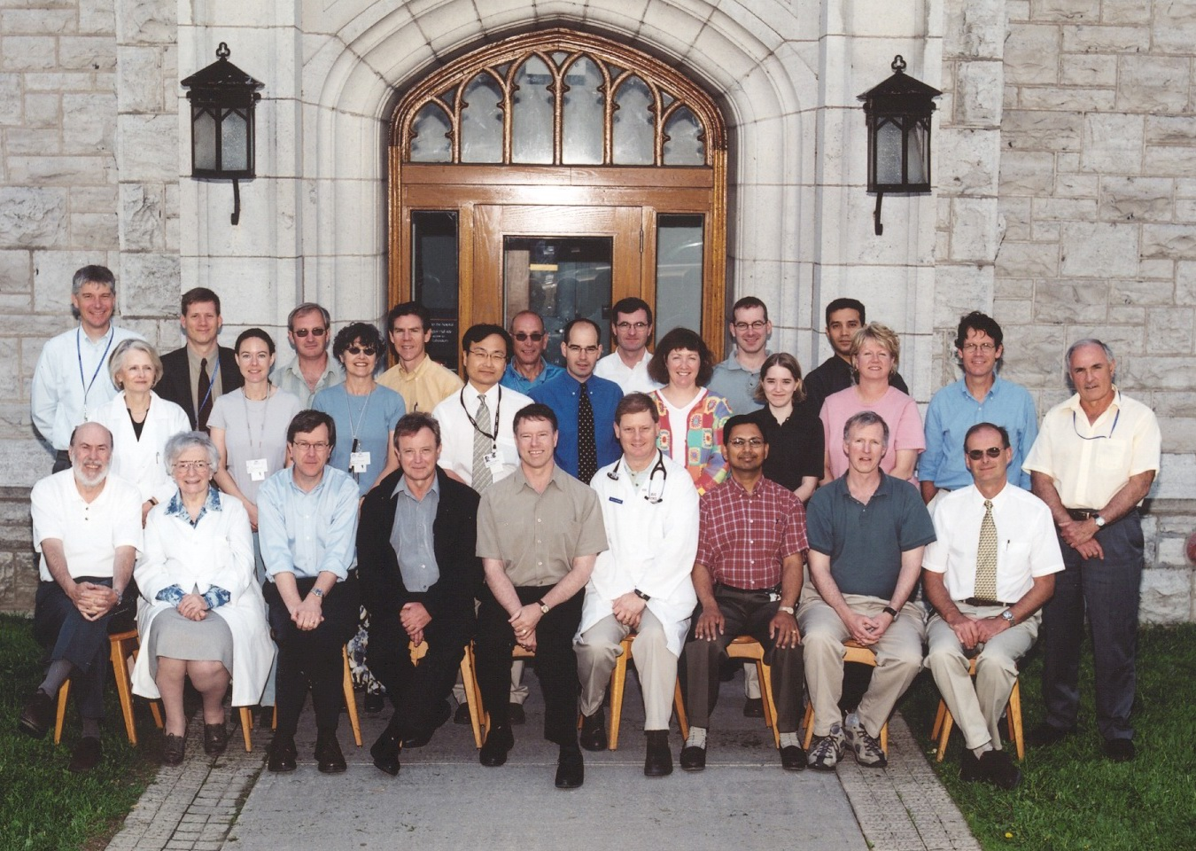2004 Faculty Group Photo