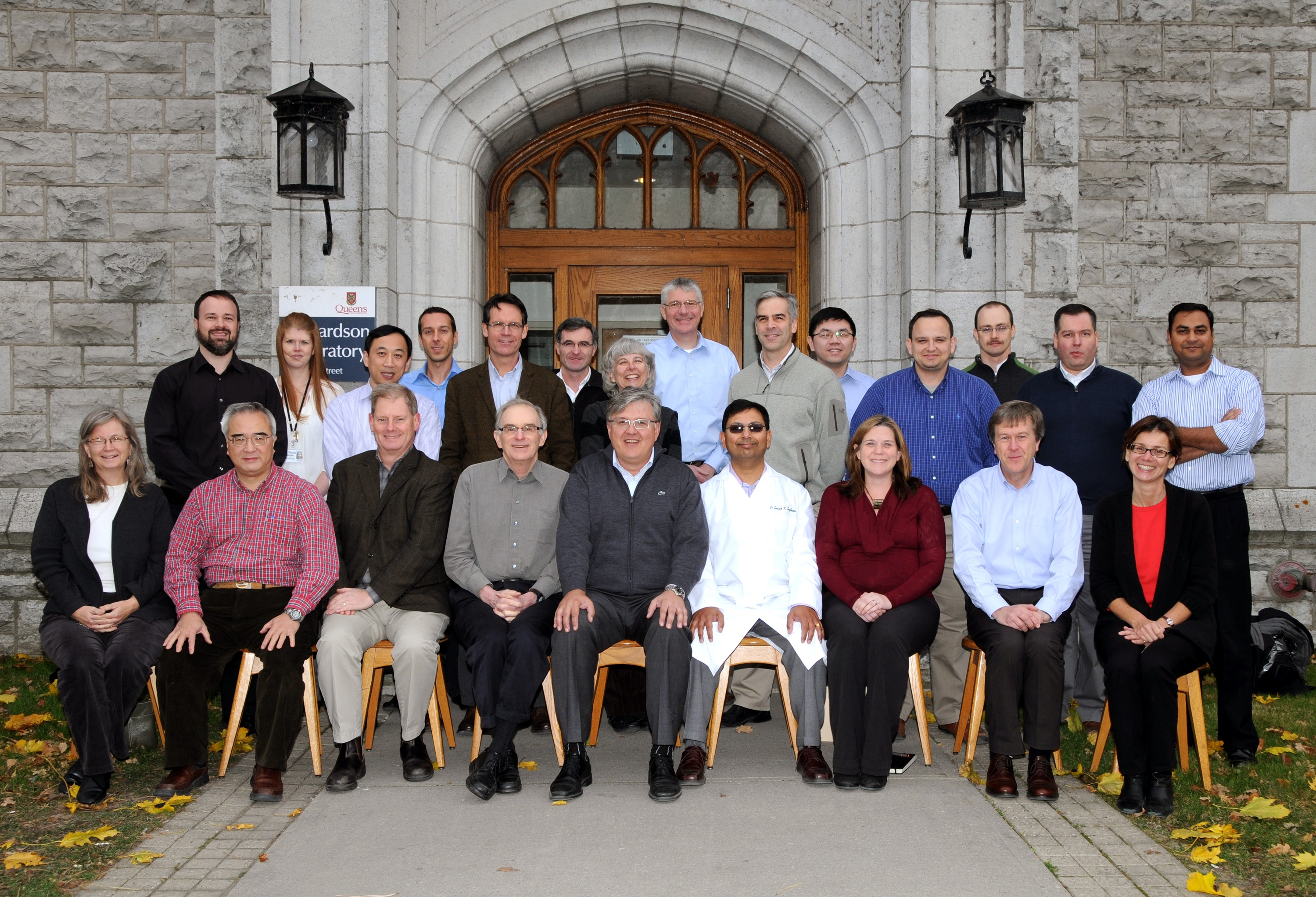 2011 Faculty Group Photo