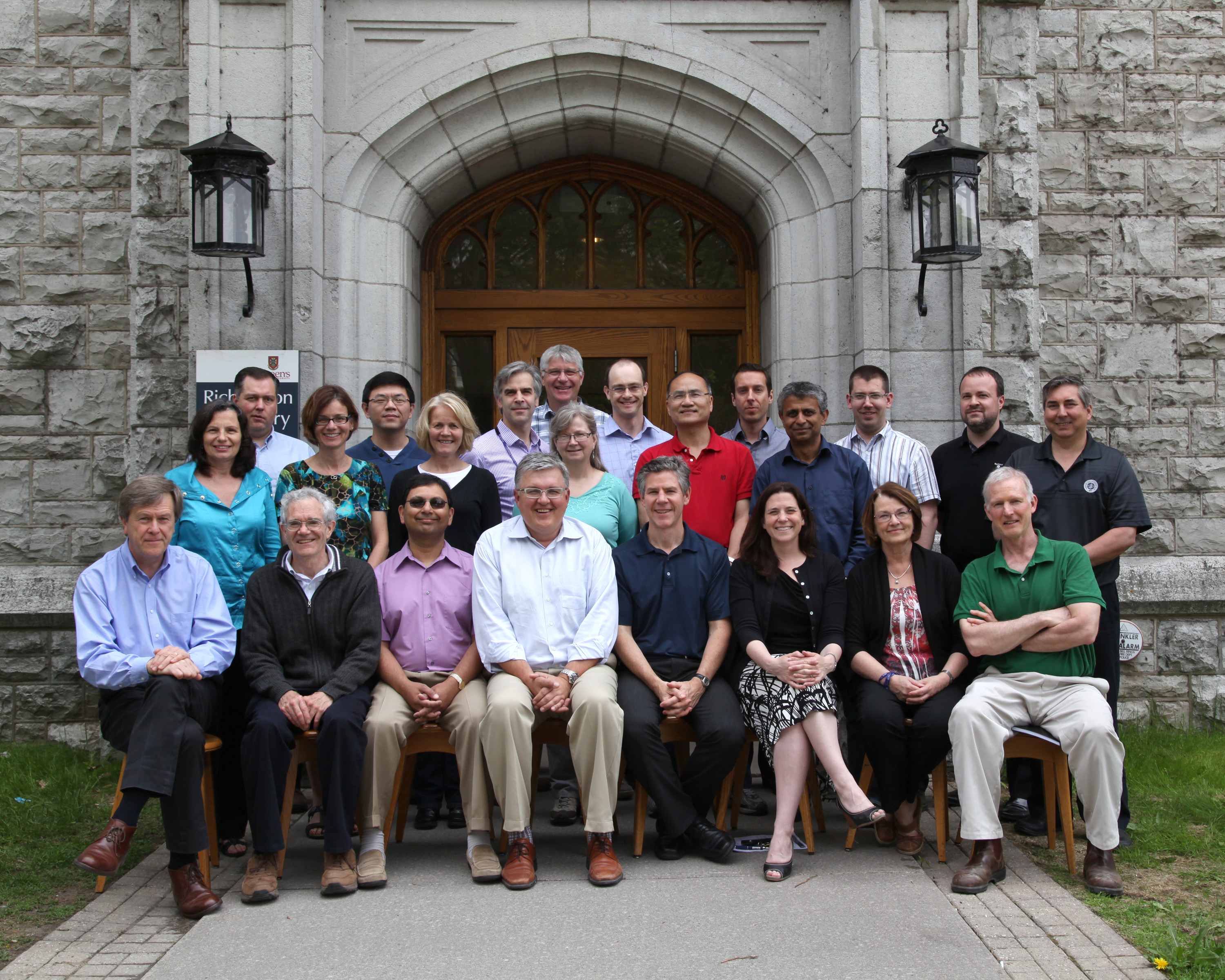 2013 Faculty Group Photo