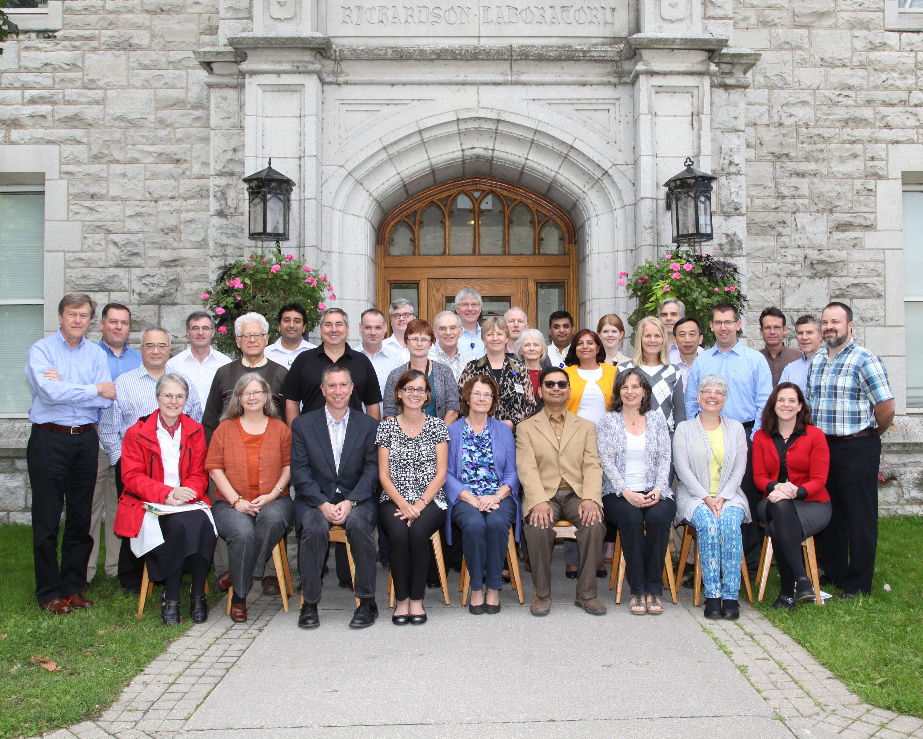 2014 Faculty Group Photo